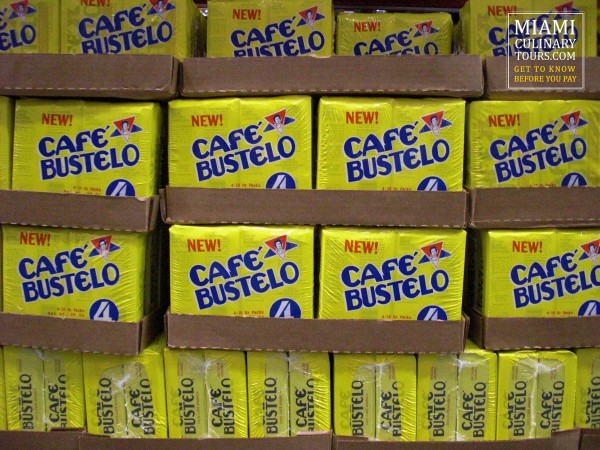 Cuban Coffee, cafe Bustelo